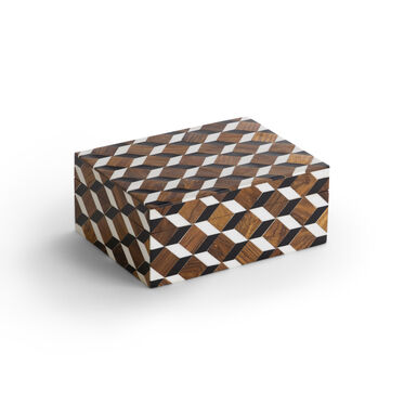 CHECKERED SMALL BOX, , hi-res