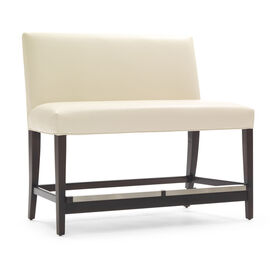 ANTHONY LEATHER COUNTER BENCH, Performance Tribeca - CREAM, hi-res