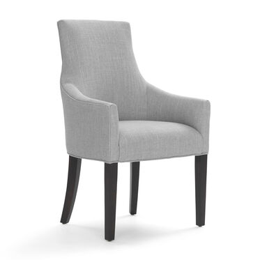 ADA ARM DINING CHAIR, WORTH - PEWTER, hi-res