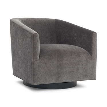 COOPER RETURN SWIVEL CHAIR, BOULEVARD - GRAPHITE, hi-res