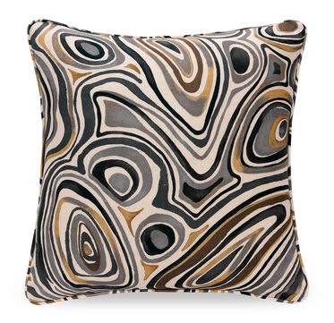 22 IN. SQUARE THROW PILLOW, SHELTON - INDIGO, hi-res