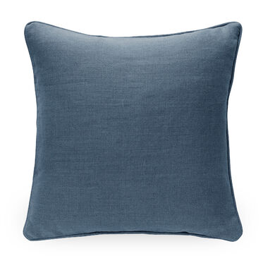 21 IN. SQUARE THROW PILLOW, BELGIAN LINEN - HARB, hi-res