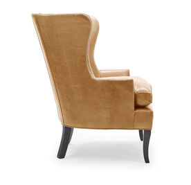 WILL LEATHER CHAIR, MONT BLANC - FAWN, hi-res