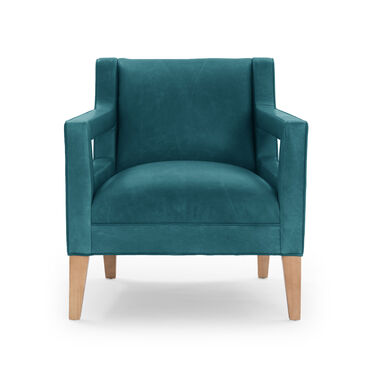 DUKE LEATHER CHAIR, MONT BLANC - MOUNTAIN SPRING, hi-res