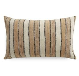 MIXED NEUTRALS STRIPED 18 X 30 PILLOW, , hi-res