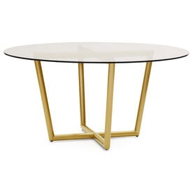 MODERN ROUND DINING TABLE, , hi-res