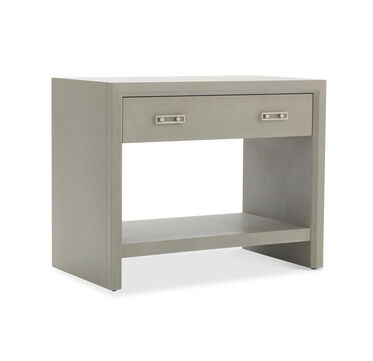 MALIBU SIDE TABLE - GRAY, , hi-res