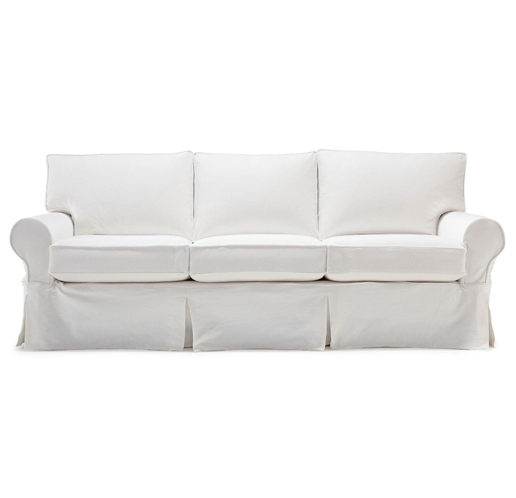 Alexa ii slipcover sofa hi res