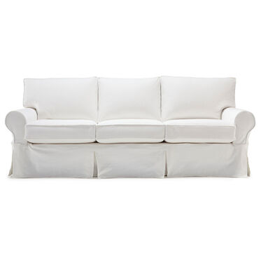 ALEXA II SLIPCOVER SOFA, BULL DENIM - WHITE, hi-res