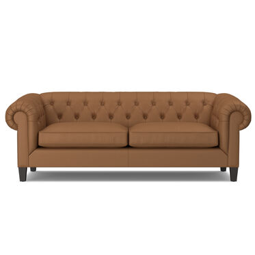 ADDISON NO NAIL LEATHER SOFA, , hi-res