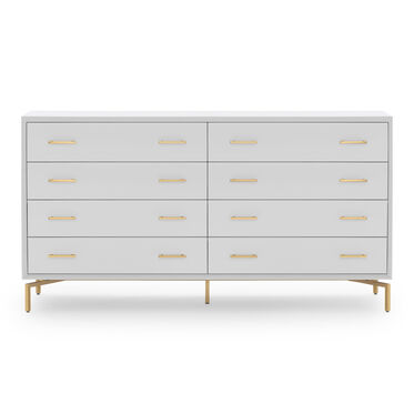 MING 8 DRAWER CHEST - WHITE, , hi-res