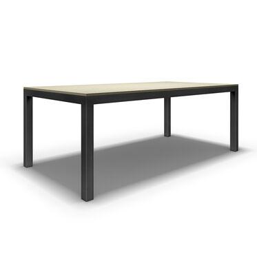 CLASSIC PARSONS DINING TABLE - DARK BRONZE, , hi-res