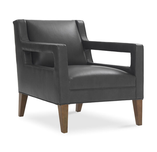 DUKE LEATHER CHAIR, , hi-res