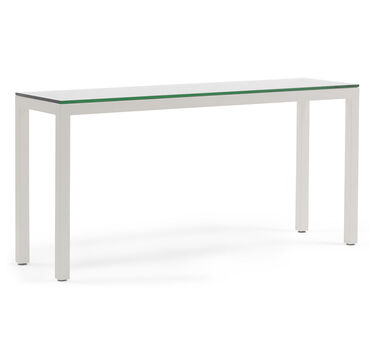 CLASSIC PARSONS CONSOLE TABLE - POWDER WHITE, , hi-res