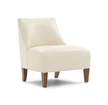 IRIS LEATHER CHAIR, , hi-res