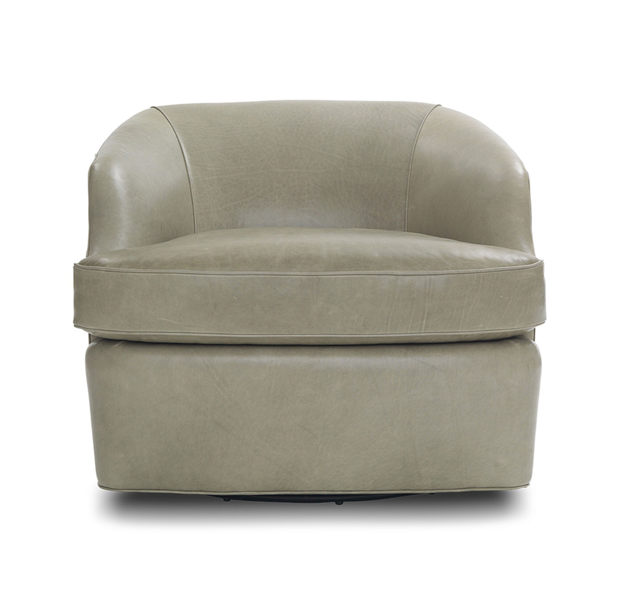 ARIES LEATHER FULL SWIVEL CHAIR