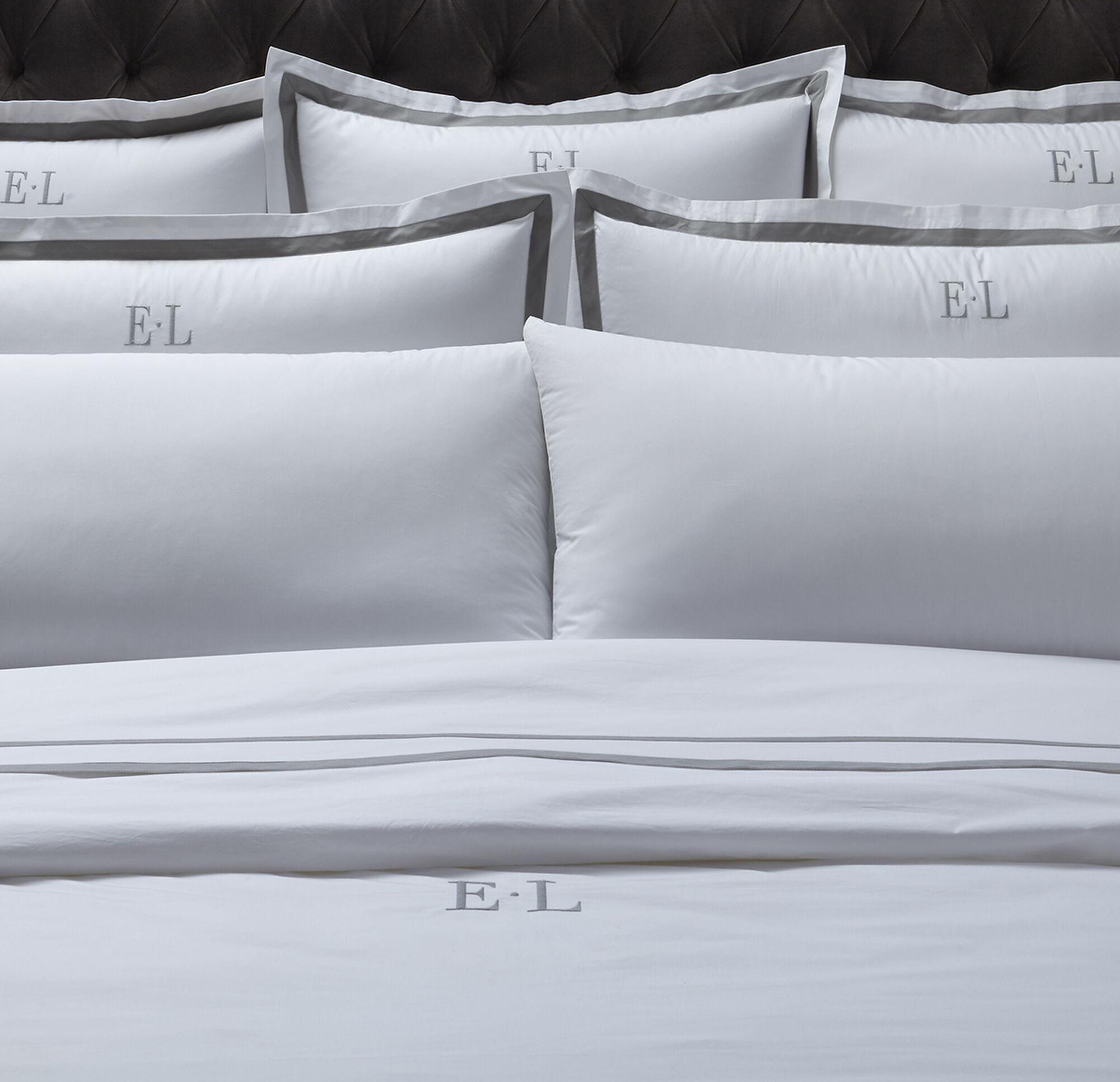 felicity monogram pillow cases