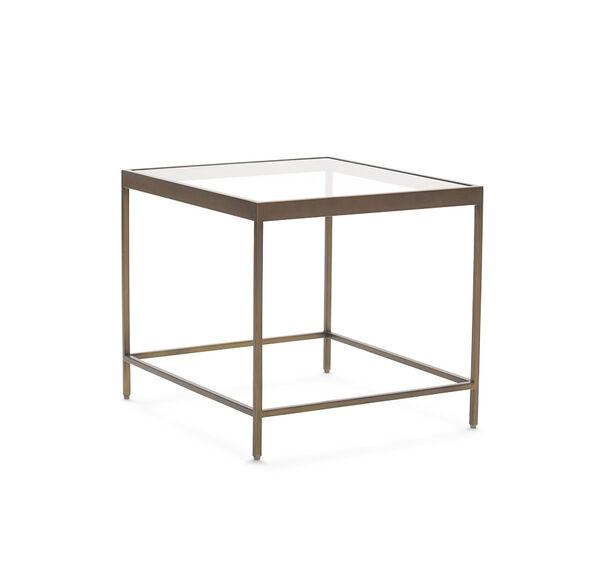 VIENNA SIDE TABLE - ANTIQUE BRASS, , hi-res