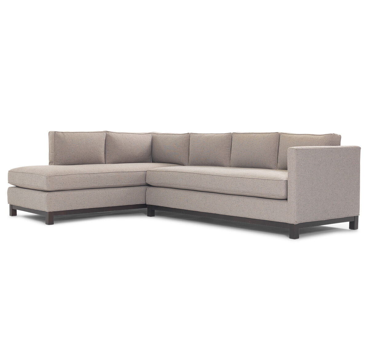 CLIFTON SECTIONAL SOFA, WHIT   STONE SOP, Hi Res