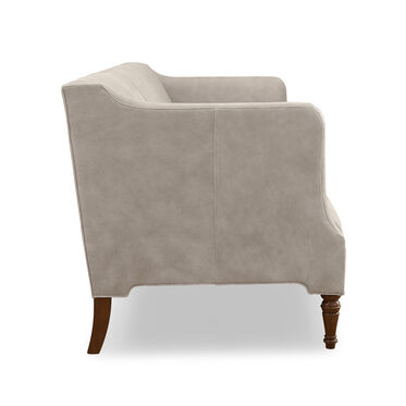 BENNETT LEATHER SOFA, MOAB - TAUPE, hi-res