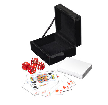 MONACO PLAYING CARD AND DICE BOX, , hi-res