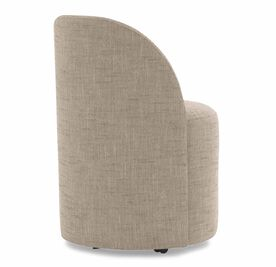 MARGAUX SIDE CHAIR, Textured Weave - FLAX, hi-res