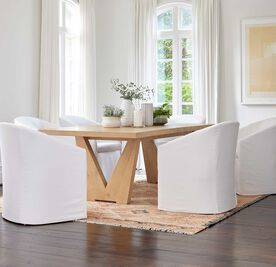PORTIA SLIPCOVER DINING CHAIR