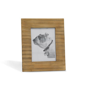 LARGE GOLD RIPPLE PICTURE FRAME, , hi-res