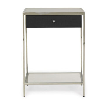 "MANNING 20"" SIDE TABLE - CAVIAR, , hi-res"