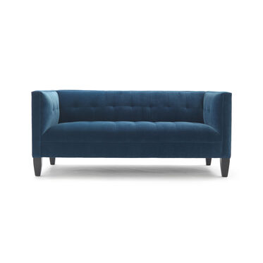 KENNEDY LOVESEAT, BOULEVARD - DEEP BLUE, hi-res