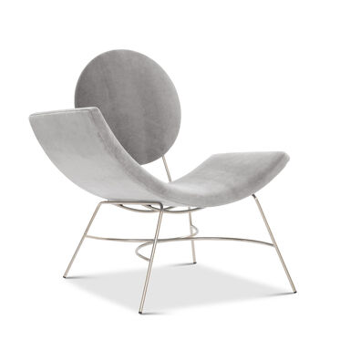 ELROY LEFT ARM CHAIR, BOULEVARD - LIGHT GREY, hi-res