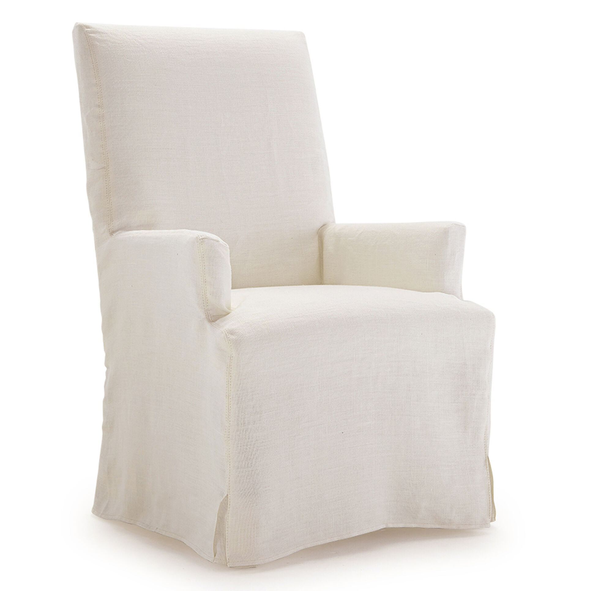 Julia Tall Arm Dining Chair Slipcover