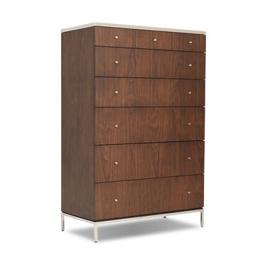 MANNING 6 DRAWER CHEST - WALNUT, , hi-res