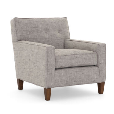 DEXTER CHAIR, HOLLINS - DARK TAUPE, hi-res