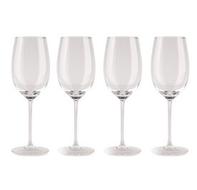 HANDBLOWN WHITE WINE GLASSES - SET OF 4, , hi-res