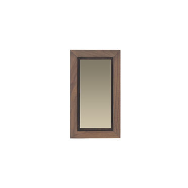 WALNUT SMOKY SMALL MIRROR, , hi-res