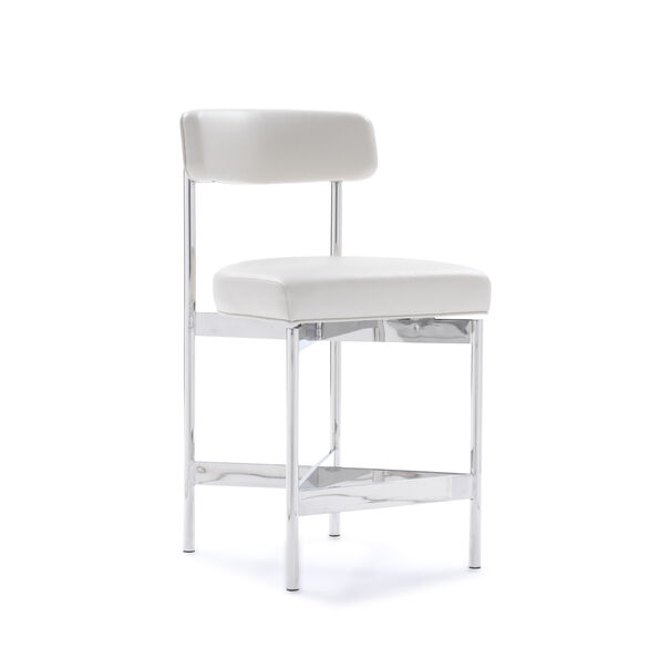 REMY LEATHER COUNTER STOOL, TRIBECA - CREAM, hi-res