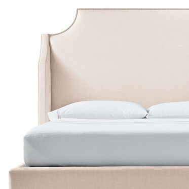 MIRABELLE TALL QUEEN FLOATING RAIL BED, WORTH - CREAM, hi-res