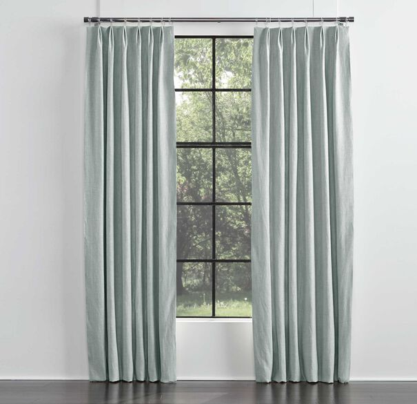 LEGACY BASIC SINGLE PANEL EURO PLEAT, LEGACY - TRANQUIL BL, hi-res