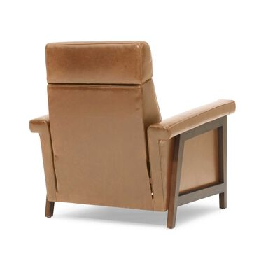 ARLEN ELECTRIC LEATHER RECLINER, MONT BLANC - FAWN, hi-res