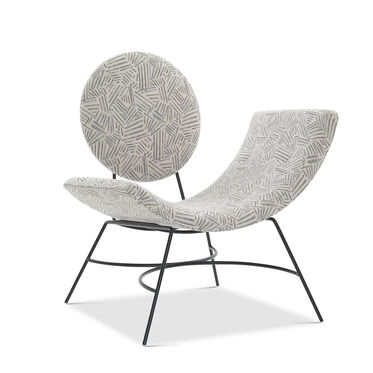 ELROY RIGHT ARM CHAIR, KORBY - PEWTER, hi-res