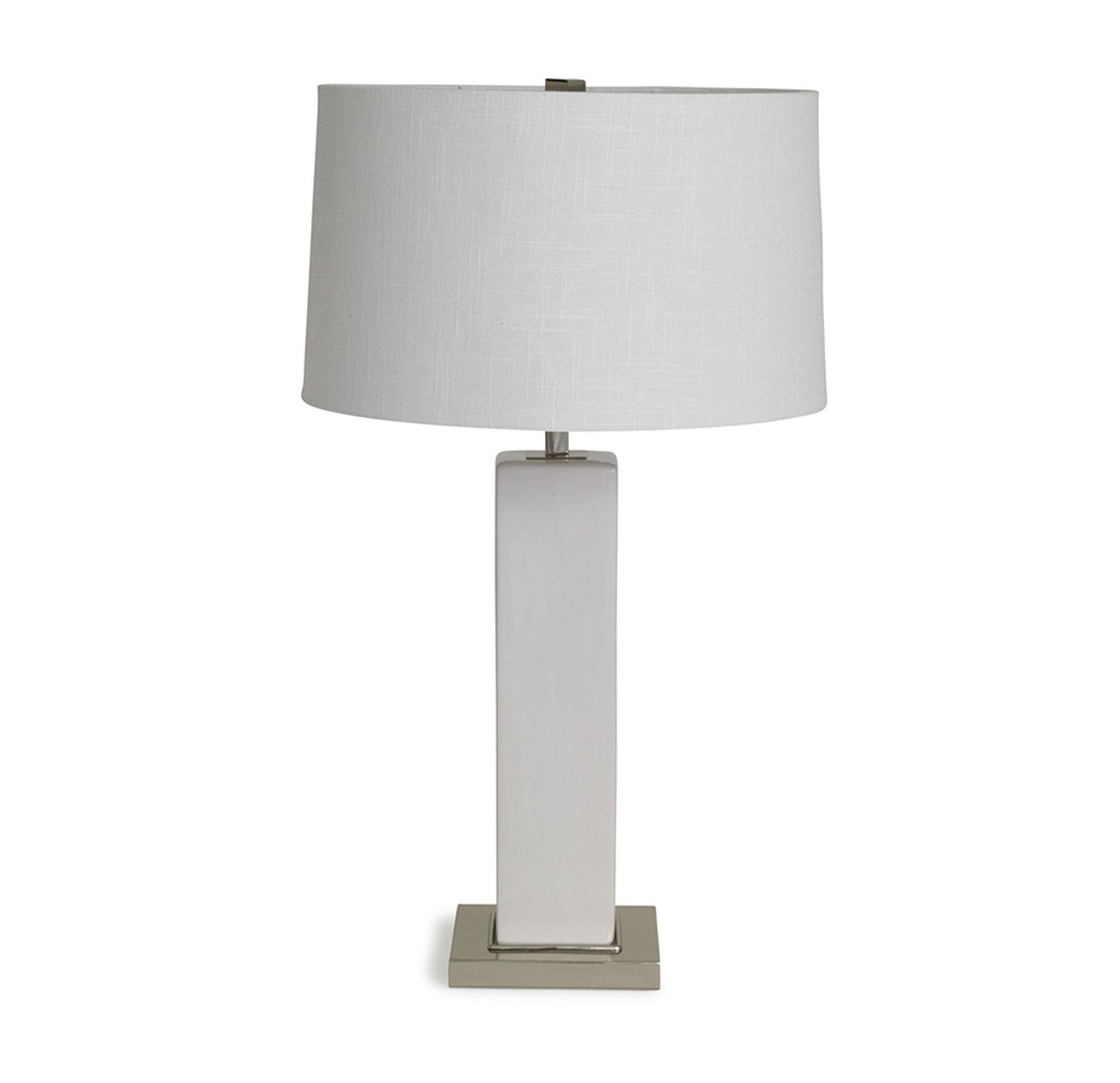Top RUBIX LILY WHITE TABLE LAMP NA99