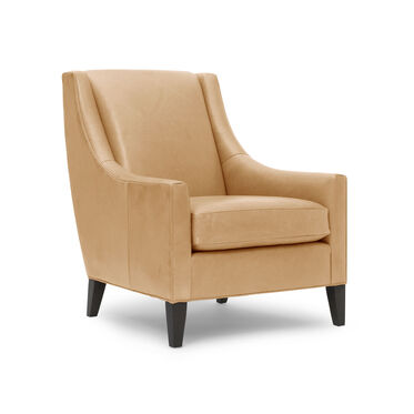 CARA LEATHER TALL CHAIR, MONT BLANC - FAWN, hi-res