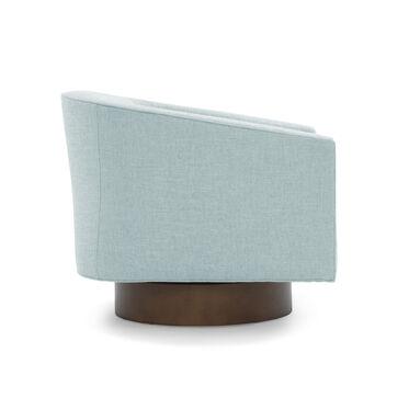BIANCA FULL SWIVEL CHAIR, WORTH - SKY BLUE, hi-res