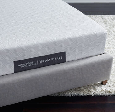 "DREAM 12"" PLUSH MATTRESS, , hi-res"