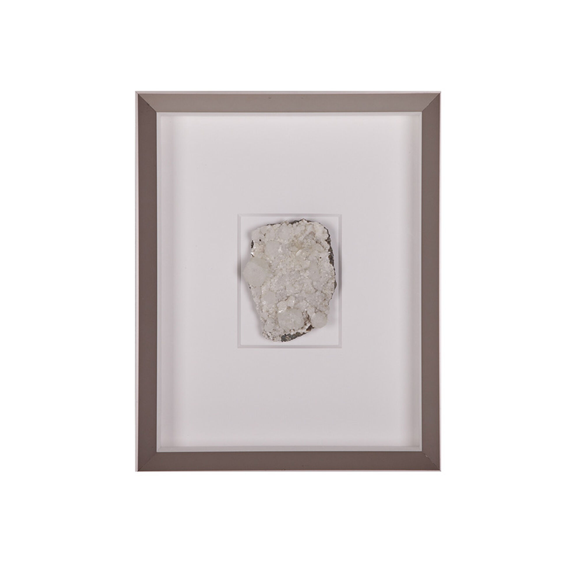 Natural mineral white wall art for White wall art