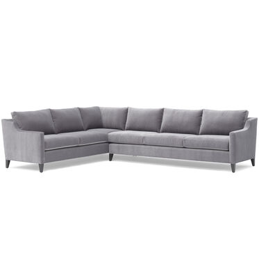 GIGI LEFT SECTIONAL, BOULEVARD - LIGHT GREY, hi-res