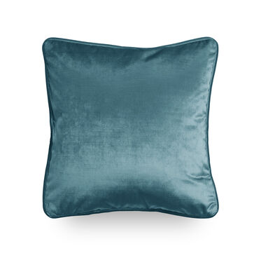 17 IN. SQUARE THROW PILLOW, EVERSON - JADE, hi-res