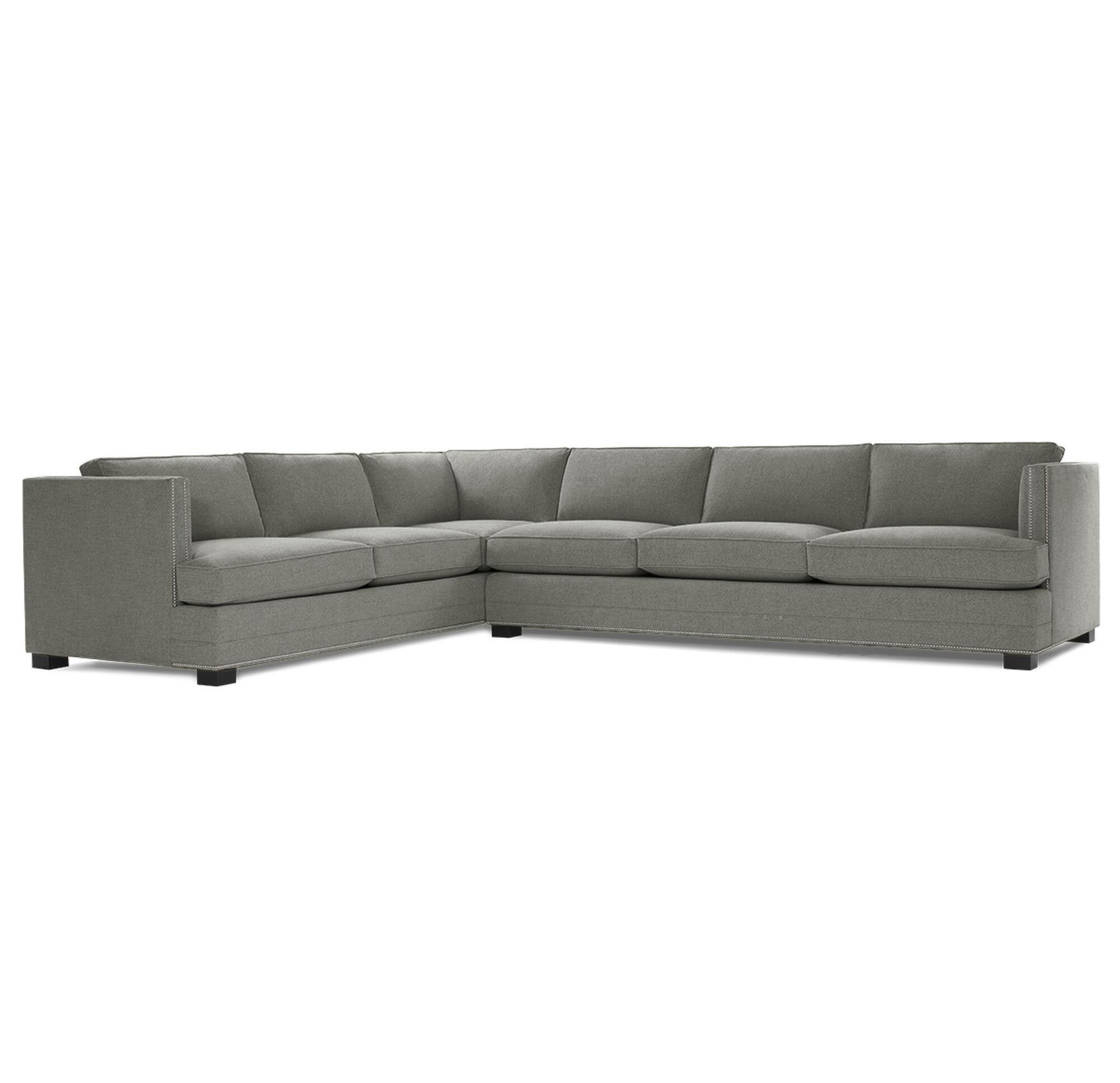 Keaton Nailhead Trim Right Sectional Sofa Hi Res