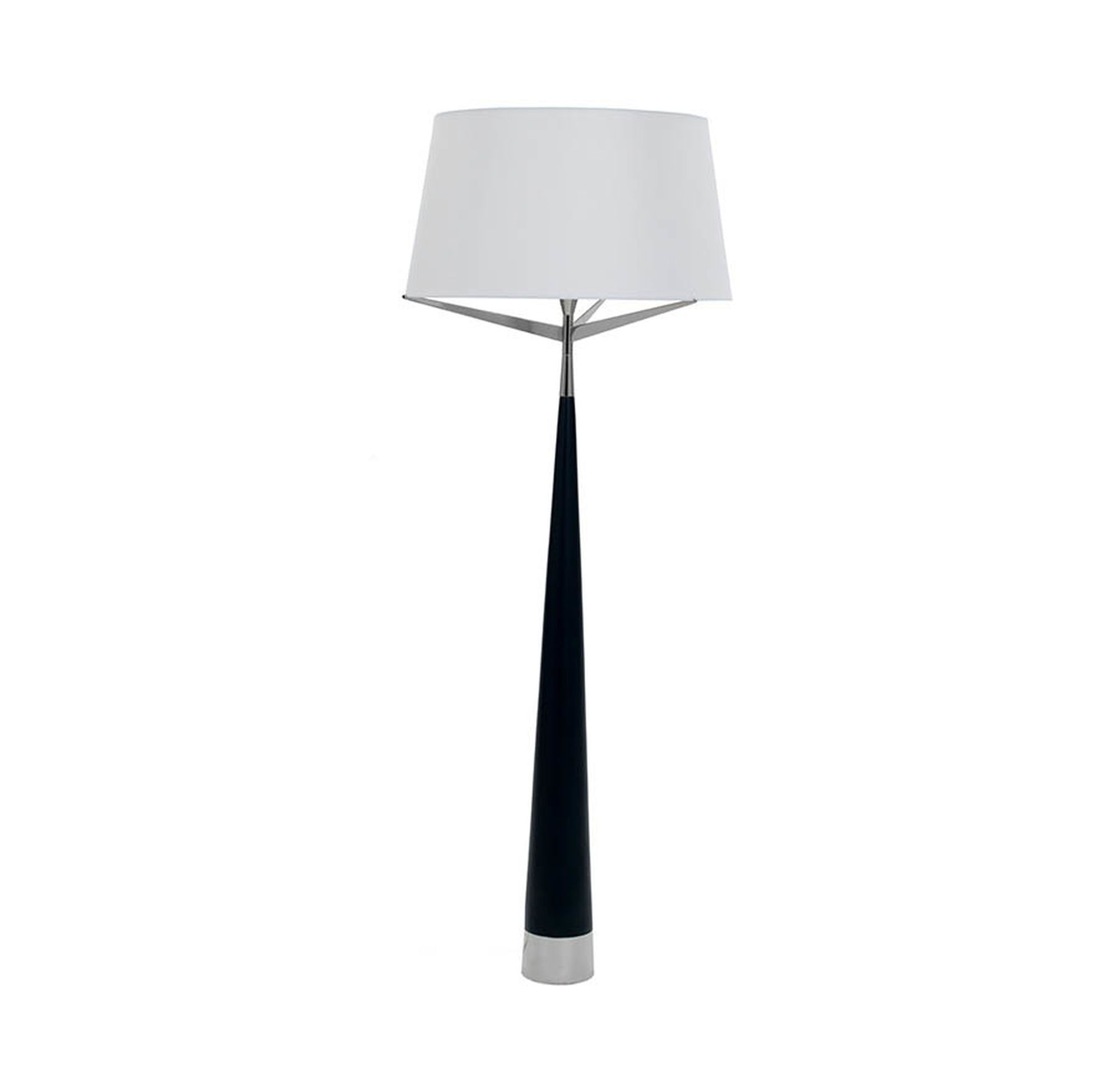 Luca floor lamp nickel luca floor lamp nickel hi res aloadofball Gallery